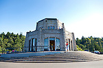 The Vista House at Crown Point in the Columbia River Gorge, Oregon