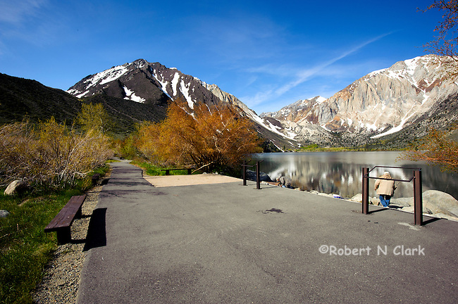 Convict Lake in the Sierra Nevada of California