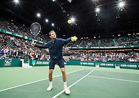 14-02-13, Tennis, Rotterdam, ABNAMROWTT, Julien Benneteau