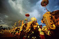 Great Elephant Show, Trivandrum (Thiruvananthapuram), Kerala, India