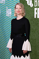 "Mia Wasikovska<br /> arriving for the ""Judy and Punch"" london Film Festival 2019 screening at Embankment Gardens, London<br /> <br /> ©Ash Knotek  D3523 12/10/2019"