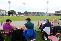 Spectators await the start of play ahead of Gloucestershire vs Essex Eagles, NatWest T20 Blast Cricket at The Brightside Ground on 13th August 2017