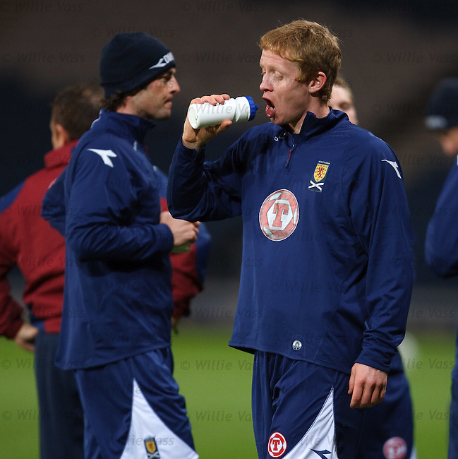 Barry Robson finds out that some joker has emptied his drinks bottle