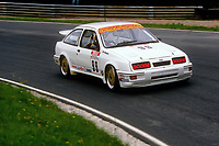 Round 9 of the 1991 British Touring Car Championship. #99 Andy Middlehurst (GBR). Graham Goode Racing. Ford Sierra.