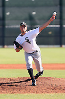 Charlie Leesman - Chicago White Sox, 2009 Instructional League.Photo by:  Bill Mitchell/Four Seam Images..