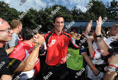 2011-08-07 / Voetbal / seizoen 2011-2012 / Fandag R. Antwerp FC / Théo Defourny ..Foto: mpics