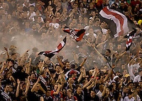DC United Fans.  The Seattle Sounders defeated DC United, 2-1, to win the 2009 Lamr Hunt U.S. Open Cup at RFK Stadium in Washington, DC.