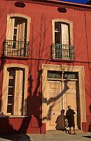 Europe/France/Languedoc-Roussillon/66/Pyrénées-Orientales/Collioure: détail maison