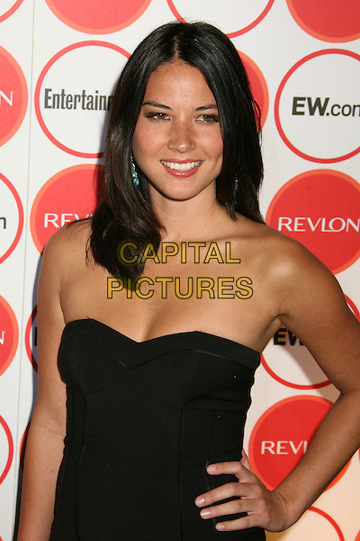 OLIVIA MUNN.Entertainment Weekly Magazine 4th Annual Pre-Emmy Party, Los Angeles, California, USA..August 26th, 2006.Ref: ADM/BP.half length black strapless hand on hip.www.capitalpictures.com.sales@capitalpictures.com.©Byron Purvis/AdMedia/Capital Pictures.