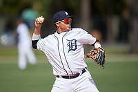 Detroit Tigers third baseman Martin Olivas (73) during an Instructional League game against the Philadelphia Phillies on September 19, 2019 at Tigertown in Lakeland, Florida.  (Mike Janes/Four Seam Images)