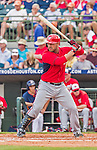 20 March 2015: Washington Nationals catcher Sandy Leon in Spring Training action against the Houston Astros at Osceola County Stadium in Kissimmee, Florida. The Nationals defeated the Astros 7-5 in Grapefruit League play. Mandatory Credit: Ed Wolfstein Photo *** RAW (NEF) Image File Available ***