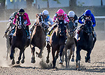 June 8, 2019 : #7, Sir Winston, ridden by jockey Joel Rosario, wins the 151st Belmont Stakes on Belmont Stakes Festival Saturday at Belmont Park in Elmont, New York. Dan Heary/Eclipse Sportswire/CSM