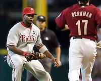 Howard, Ryan 5776.jpg Philadelphia Phillies at Houston Astros. Major League Baseball. September 6th, 2009 at Minute Maid Park in Houston, Texas. Photo by Andrew Woolley.