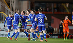 20.3.2018: Dundee Utd v Queen of the South<br /> Joe Thomson celebrates his winning goal