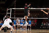 STANFORD, CA - March 16, 2019: Stanford beats UCLA 3-2 at Maples Pavilion.