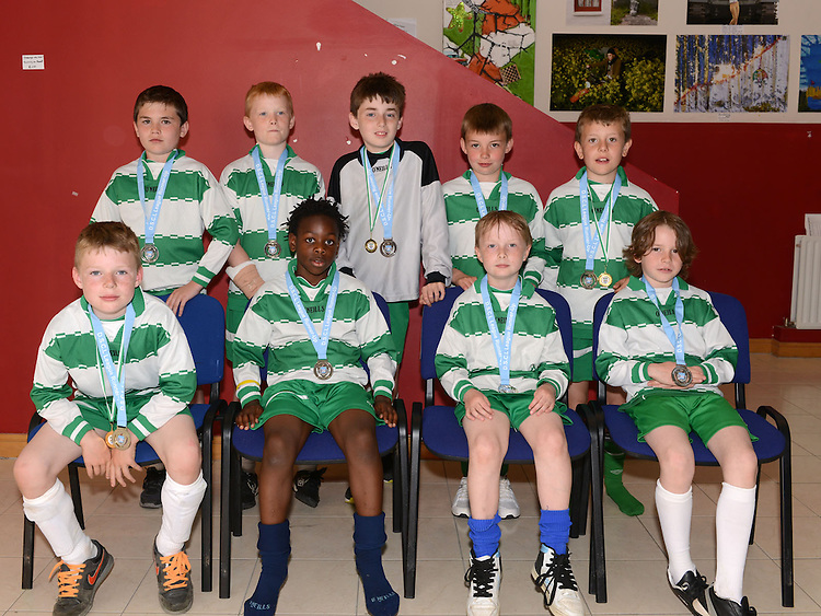 Donacarney Lions U-10. Photo:Colin Bell/pressphotos.ie