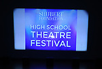 on stage during The Fourth Annual High School Theatre Festival at The Shubert Theatre on March 19, 2018 in New York City.