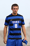 05 September 2015: Duke's Jared Rist. The Duke University Blue Devils hosted the Iona University Gaels at Koskinen Stadium in Durham, NC in a 2015 NCAA Division I Men's Soccer match. Duke won the game 2-1.