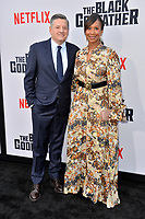 "LOS ANGELES, USA. June 04, 2019: Ted Sarandos & Nicole Avant at the premiere for ""The Black Godfather"" at Paramount Theatre.<br /> Picture: Paul Smith/Featureflash"