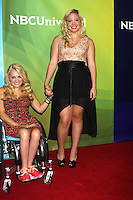 BEVERLY HILLS, CA - JULY 25: Ali Stroker and Shanna Henderson at the 2012 NBC Universal summer TCA press tour day 2 at The Beverly Hilton Hotel on July 25, 2012 in Beverly Hills, California. © mpi25/MediaPunch Inc.