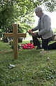 11/06/16<br /> <br /> Dorris Innes, (niece).<br /> <br /> One hundred years have passed since Private Charles Gordon Shaw was fatally wounded in the Battle of the Somme, but today is the first day his family have been able to grieve at his graveside.<br /> <br /> Full Story: https://fstoppressblog.wordpress.com/private_charles_shaw/<br /> <br /> <br /> That&rsquo;s because his grave was &ldquo;lost&rdquo; during a changeover in church vicars and when the Commonwealth War Graves Commission tried to place a headstone on his plot in 1926, the new vicar was unable to tell them where the body was buried.<br /> <br /> But today, thanks to detective work by his  niece, 83-year-old Dorris Innes from Spondon, together with an amateur historian who located the &lsquo;lost&rsquo; grave, Private Shaw&rsquo;s family were finally able to pay their respects to the war hero, with a commemorative service at his grave, exactly 100 years to the day since he was buried at Christ Church in Stonegravels, Chesterfield.<br /> <br /> All Rights Reserved, F Stop Press Ltd.