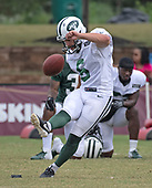 New York Jets participate in a joint training camp practice with the Washington Redskins at the Washington Redskins Bon Secours Training Facility in Richmond, Virginia on Monday, August 13, 2018.<br /> Credit: Ron Sachs / CNP<br /> (RESTRICTION: NO New York or New Jersey Newspapers or newspapers within a 75 mile radius of New York City)