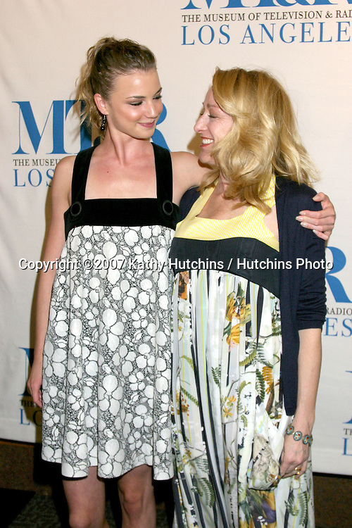 "Emily VanCamp & Patricia Wettig.""Brothers & Sisters"" Honored by the.24th Annual William S. Paley Television Festival.Museum of TV & Radio.Director's Guild.Los Angeles, CA.March 5, 2007.©2007 Kathy Hutchins / Hutchins Photo..."