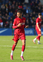 20191023 - Genk: Liverpool's Elijah Dixon-Booner is pictured during the UEFA Youth League group stages match between KRC Genk Youth and Liverpool FC on October 23, 2019 at KRC Genk Stadium Arena B, Genk, Belgium. PHOTO:  SPORTPIX.BE | SEVIL OKTEM