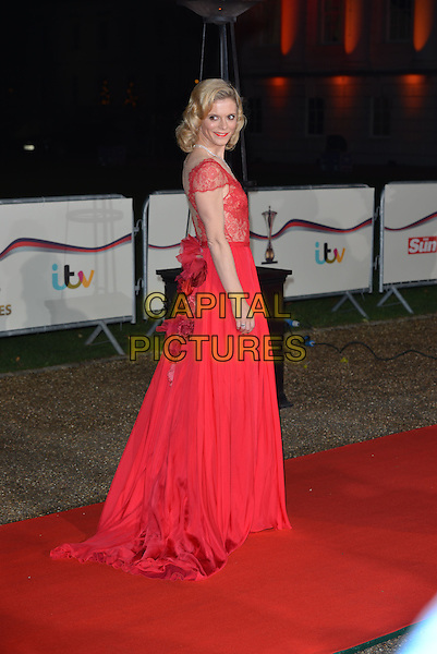 LONDON, ENGLAND - DECEMBER 10: Emilia Fox attends A Night Of Heroes: The Sun Military Awards at National Maritime Museum on December 10, 2014 in London, England.<br /> CAP/PL<br /> &copy;Phil Loftus/Capital Pictures