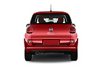 Straight rear view of a 2014 Fiat 500L Hatchback