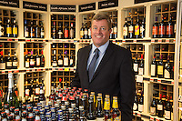 Johnathan James who runs 36 Bargain Booze Stores