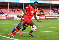 Enzio Boldewijn of Crawley Town (7)  during the Sky Bet League 2 match between Crawley Town and Accrington Stanley at Broadfield Stadium, Crawley, England on 22 October 2016. Photo by Edward Thomas / PRiME Media Images.