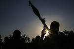 Palestinian militants from the Al-Quds Brigades, the armed wing of the Islamic Jihad movement guard the border in the east of Gaza city on the Muslim holy fasting month of Ramadan on June 13, 2018. Ramadan is sacred to Muslims because it is during that month that tradition says the Koran was revealed to the Prophet Mohammed. The fast is one of the five main religious obligations under Islam. More than 1.5 billion Muslims around the world will mark the month, during which believers abstain from eating, drinking, smoking and having sex from dawn until sunset. Photo by Dawoud Abo Alkas