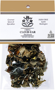 20107 Cloud Ear Mushrooms, Caravan 0.5 oz, India Tree Storefront
