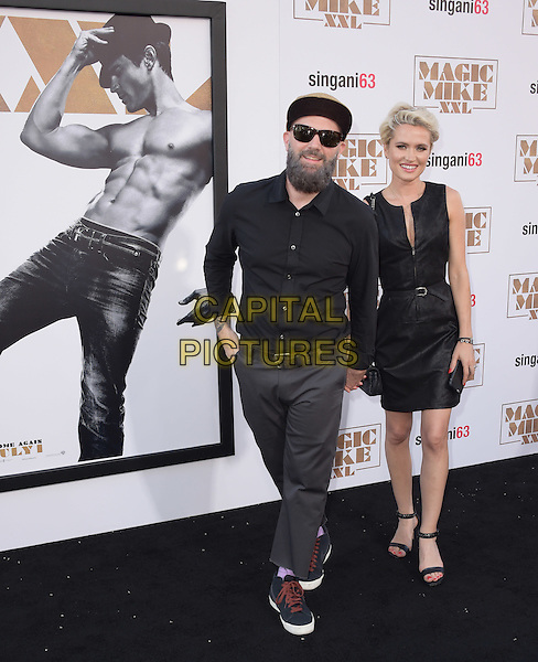 Fred Durst &amp; guest attends The Warner Bros. Pictures' L.A. Premiere of Magic Mike XXL held at The TCL Chinese Theatre  in Hollywood, California on June 25,2015  <br /> CAP/DVS<br /> &copy;DVS/Capital Pictures