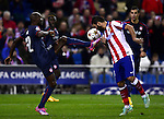 Arda Turan during the UEFA Champions League semifinal first leg football match Club Atletico de Madrid vs Olympiacos at the Vicente Calderon stadium in Madrid on November 26, 2014.   PHOTOCALL3000/ DP
