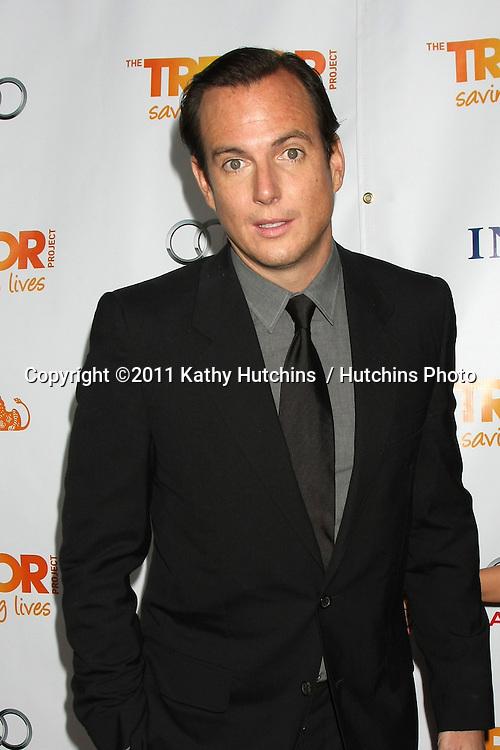 """LOS ANGELES - DEC 4:  Will Arnett arrives at """"The Trevor Project's 2011 Trevor Live!"""" at Hollywood Palladium on December 4, 2011 in Los Angeles, CA"""