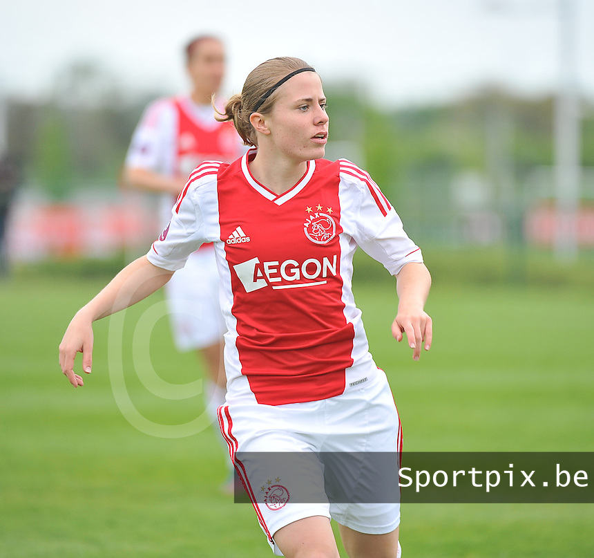 RSC Anderlecht Dames - Ajax Amsterdam : Sabine Becx.foto DAVID CATRY / Nikonpro.be