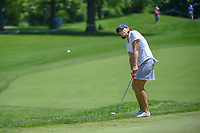 Juli Inkster (USA) chips on to 10 during round 2 of the 2018 KPMG Women's PGA Championship, Kemper Lakes Golf Club, at Kildeer, Illinois, USA. 6/29/2018.<br /> Picture: Golffile | Ken Murray<br /> <br /> All photo usage must carry mandatory copyright credit (© Golffile | Ken Murray)