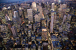 Night view of NYC from the Empire State Building