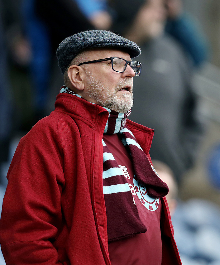 Burnley fans enjoy pre-match atmosphere<br /> <br /> Photographer Rich Linley/CameraSport<br /> <br /> Emirates FA Cup Third Round - Burnley v Barnsley - Saturday 5th January 2019 - Turf Moor - Burnley<br />  <br /> World Copyright © 2019 CameraSport. All rights reserved. 43 Linden Ave. Countesthorpe. Leicester. England. LE8 5PG - Tel: +44 (0) 116 277 4147 - admin@camerasport.com - www.camerasport.com