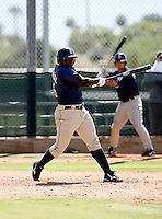 Yefri Carvajal / San Diego Padres 2008 Instructional League..Photo by:  Bill Mitchell/Four Seam Images