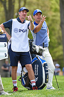 Paul Casey (GBR) looks over his tee shot on 12 during round 4 of the 2019 PGA Championship, Bethpage Black Golf Course, New York, New York,  USA. 5/19/2019.<br /> Picture: Golffile | Ken Murray<br /> <br /> <br /> All photo usage must carry mandatory copyright credit (© Golffile | Ken Murray)