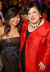Honorees Chloe Dao and Gayla Bentley at the Night of Stars Gala honoring Houston's top fashion designers at the Junior League of Houston Tuesday Nov. 03,2009. (Dave Rossman/For the Chronicle)