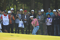 Wade Ormsby (AUS) playing onto the 13th green during Round 4 of the UBS Hong Kong Open, at Hong Kong golf club, Fanling, Hong Kong. 26/11/2017<br /> Picture: Golffile | Thos Caffrey<br /> <br /> <br /> All photo usage must carry mandatory copyright credit     (&copy; Golffile | Thos Caffrey)