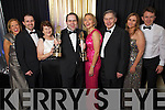 Leslie Harty, John Harty, Maureen Harty, Edmond Harty, Sheila Harty, Ned Harty, Anne Daly and John Daly of Dairymaster celebrating winning the International and Overall awards at the Ernst & Young Entrepreneur awards in Citywest Hotel, Dublin on Thursday Night.
