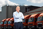 © Joel Goodman - 07973 332324 . 22/07/2016 . Bolton , UK . Jonathan Warburton in the loading bay at the Warburtons factory . Picture for business profile feature . Photo credit : Joel Goodman