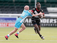 Broncos No 13 action during the U16's game between London Broncos and Huddersfield Giants at Ealing Trailfinders, Ealing, on Sun May 1, 2016
