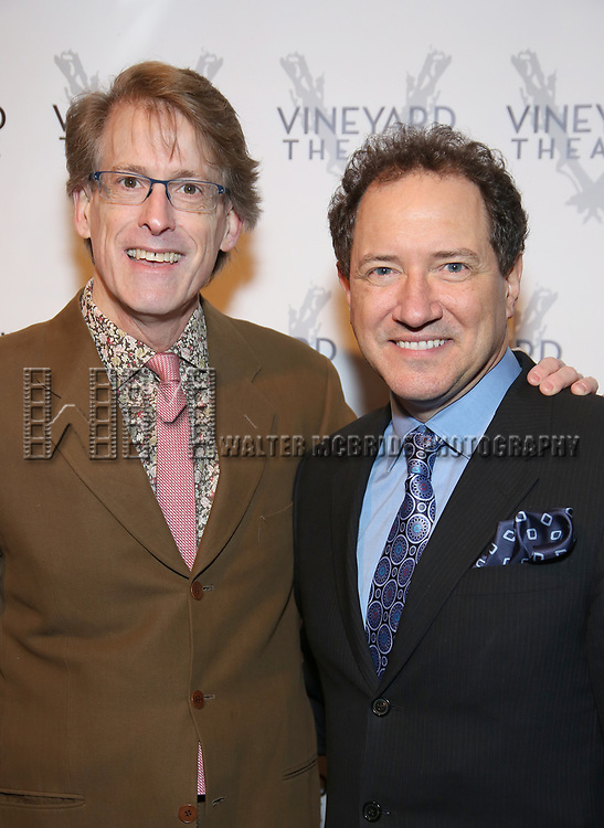 Dick Scanlon and Kebvin McCollum attends the Vineyard Theatre 2017 Gala at the Edison Ballroom on March 14, 2017 in New York City.