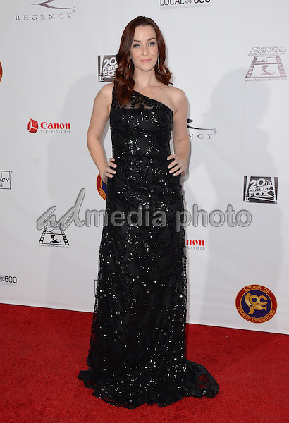 06 February  - Los Angeles, Ca - Annie Wersching. Arrivals for the Society of Camera Operators Lifetime Achievement Awards held at Paramount Theater at Paramount Studios. Photo Credit: Birdie Thompson/AdMedia